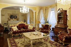 Maria tissu, Canapé classique de luxe
