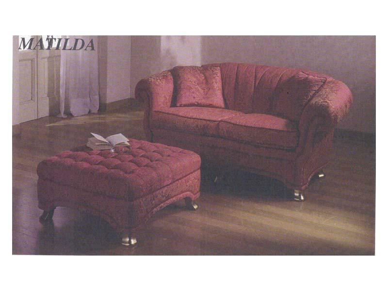 Matilda Sofa, Canapé de style classique, pour la réception et le salon