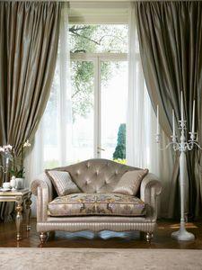 Matisse, Canapé classique avec dossier touffeté
