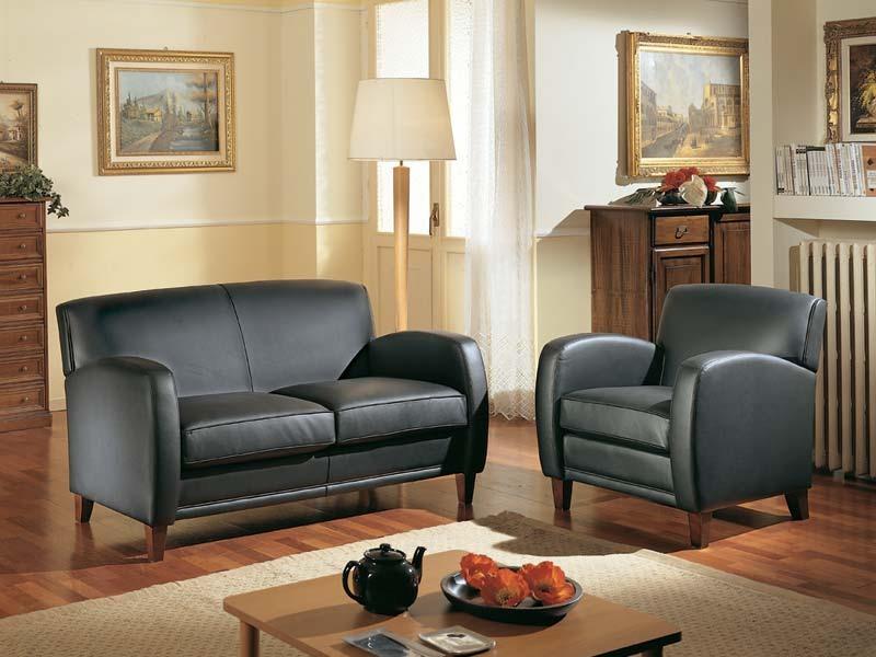 Maxima Sofa, Confortable canapé deux places, fait avec des matériaux nobles