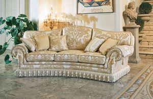 Paloma ring, Canapé en plein cintre, le style de luxe classique