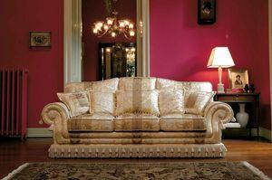 Paloma, Canapé dans le style de luxe classique, fait main