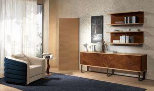 PO57 Desyo fauteuil, Style contemporain classique rembourr�