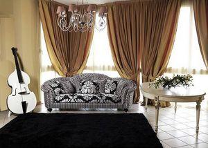 Silvia sofa, Canapé classique luxe salon