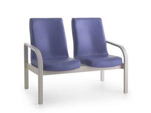 Marta 09 2P, Banquette, 2 places, ergonomique, pour la maison de soins infirmiers