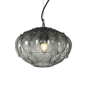Ginger SE116 1, Lampe suspendue en verre transparent en triple couche