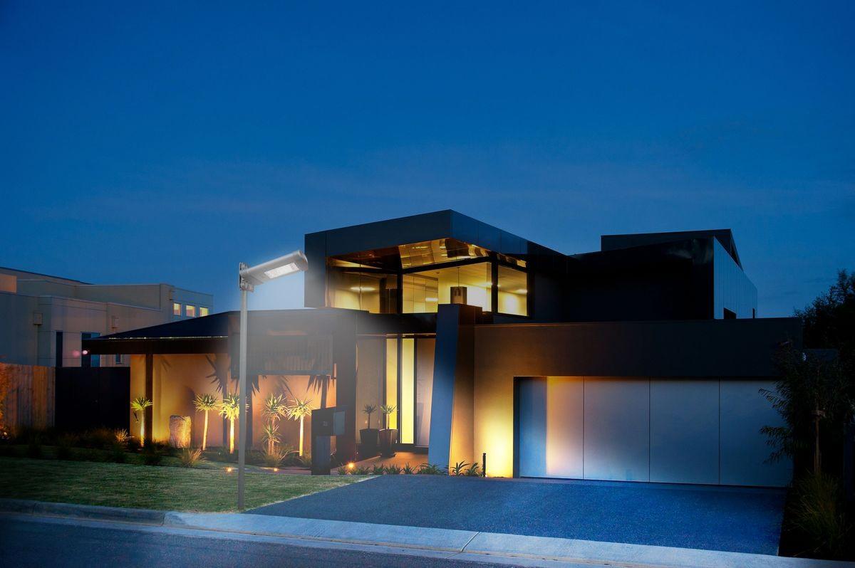 Mur solaire lampfor extérieure, lampe à LED pour les jardins | IDFdesign