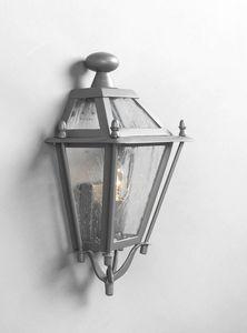 LUNGARNO GL3007WA-1S, Demi-lanterne en fer pour une utilisation en extérieur