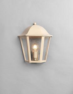 MARMI GL3014WA-1S, Demi lanterne en fer beige