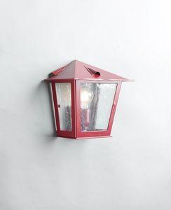 TOSCANA GL3029WA-1, Lanterne près du mur, en fer