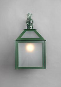 VETRI SOPRA GL3018WA-1AD, Lanterne en verre galvanisé