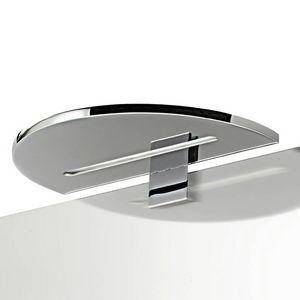 L8063, Lampe demi-circulaire en métal