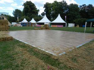 Outfloor, Plates-formes amovibles pour la danse, pour des événements en plein air