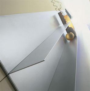 ALL comp.06, étagères en aluminium pour la maison, des lignes simples