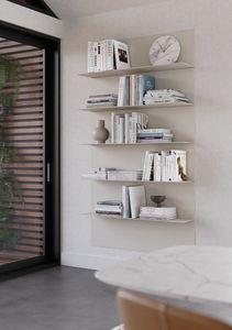 ALL comp.07, Paire d'étagères modernes, différentes finitions, pour la maison