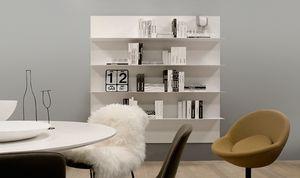 ALL comp.09, Tablette pour salon, en aluminium, dans un style simple