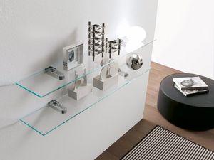 dl800 stoccolma, Étagère avec un design moderne, pour le bureau