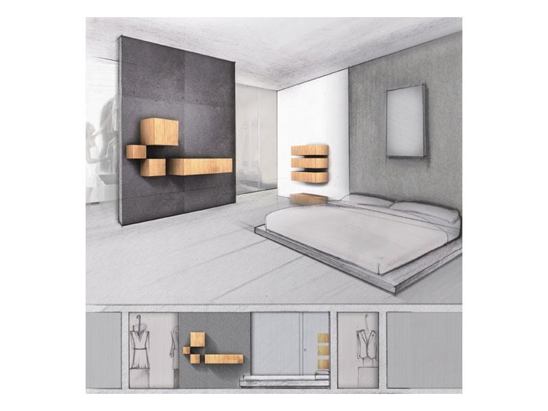 Trealcubo comp.03, Système modulaire pour les meubles