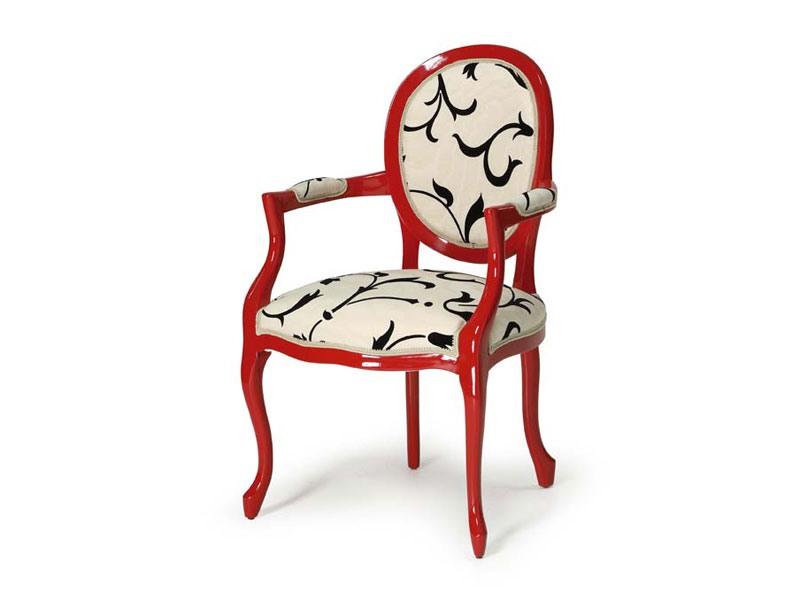 Art.418 armchair, Chaise de style classique, pour hôtels et restaurants