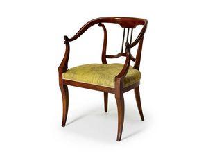 Art.482 armchair, Fauteuil de style classique, pour les hôtels et restaurants