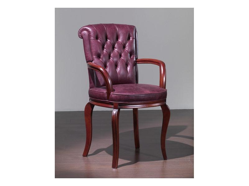 Bonn Chair with arms, Chaise de style classique, avec accoudoirs, pour Hôtel