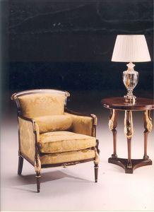 2985 CYGNE FAUTEUIL, Fauteuil de style classique, pour les salons