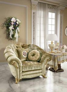 Aida fauteuil, Fauteuil classique de luxe