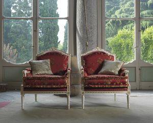 Alice fauteuil, Fauteuil de style Louis XVI