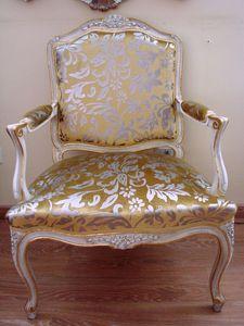 Art. 112, Chaise classique de luxe pour la maison, de style Louis XV