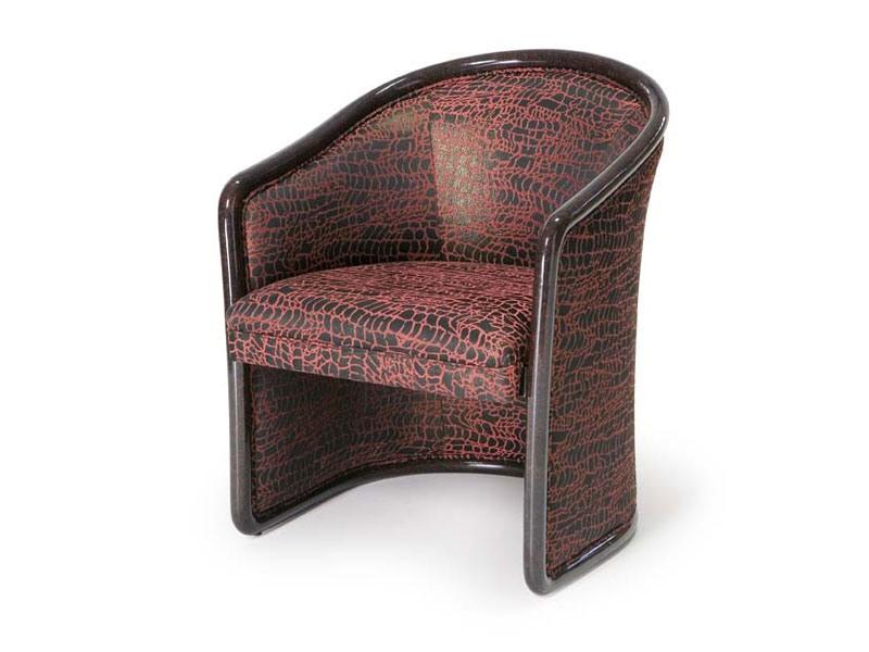Art.168 armchair, Chaise ignifuger pour les zones d'attente, style classique