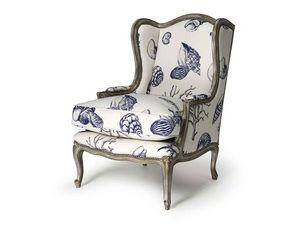 Art.320 armchair, Fauteuil en bois de hêtre, de style Louis XV
