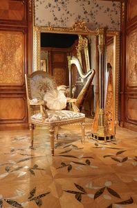 Art. 65, Sculpté chaise dorée, pour les cantines de luxe