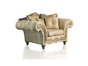 Art. IM 21 Imperial, Fauteuil avec siège profond, élégant revêtement déhoussable
