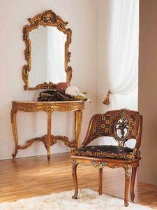 Aureola fauteuil, Fauteuil de style Louis XVI