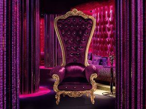 B/110/9 The Throne, Fauteuil de luxe classique en bois faits à la main