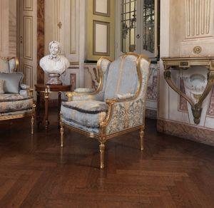 Creola fauteuil, Fauteuil sculpté à la main