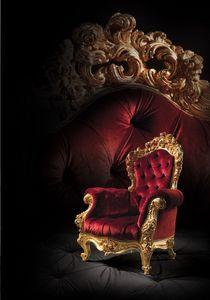 F970, Fauteuil pour matelassé de luxe Salon