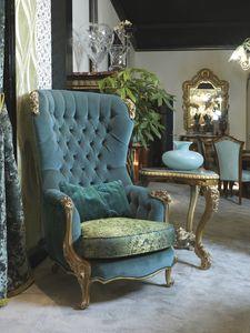 Fauteuil 5168, Fauteuil bergere de luxe classique