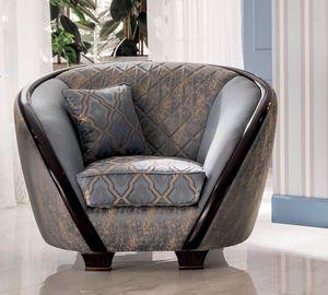 Modigliani fauteuil, Fauteuil aux formes harmonieuses