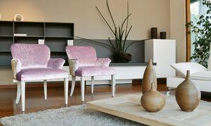 Myna, Fauteuil en bois riche, des hôtels de luxe