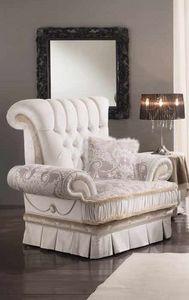 QUEEN fauteuil, Fauteuil de luxe classique