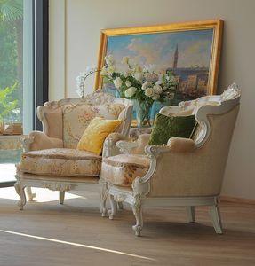 Serena fauteuil, Fauteuil à la main luxueux