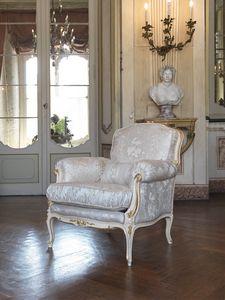 Silvia Fauteuil, Fauteuil de style Louis XV