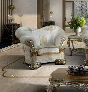 VANITY fauteuil, Fauteuil luxueux personnalisable avec broderie
