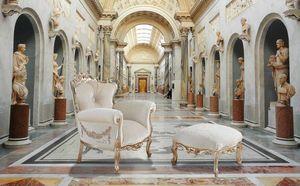 VINTAGE fauteuil, Fauteuil avec des décorations faites à la main, personnalisable