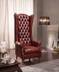 BERGER IMPERIALE fauteuil, Bergere fauteuil avec dossier haut