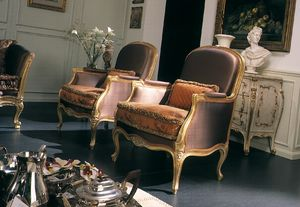 Delizia Fauteuil, Fauteuil au design classique