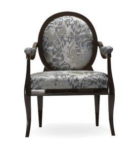 Diana fauteuil, Fauteuil classique avec dossier rond