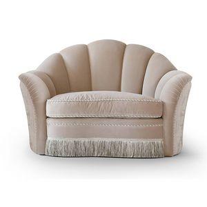 FLORA / fauteuil, Fauteuil avec assise spacieuse