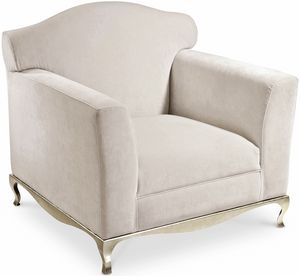 Ghirigori fauteuil, Fauteuil avec tapisserie d'ameublement